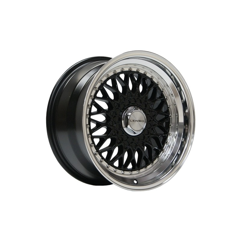 Lenso Bsx Negra 7.5X16