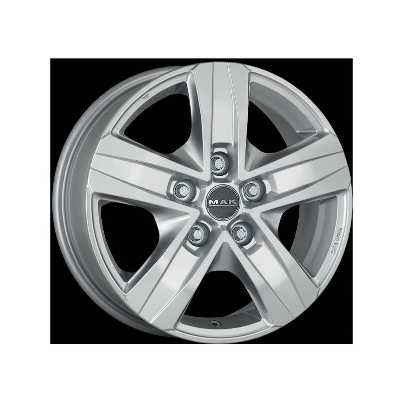Mak Stone 5 Van Silver  6.5x16
