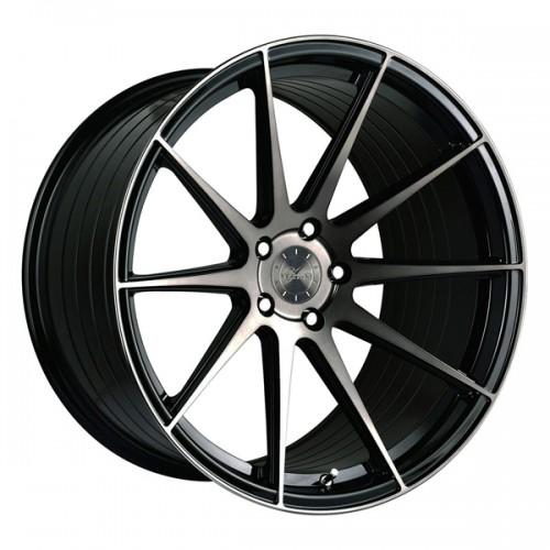 Vertini RF 1.3 Negro y Pulido 8.5x19 + 9.5x19