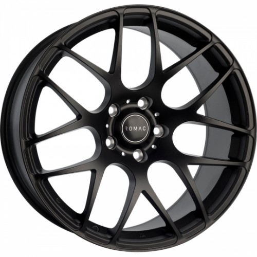 Romac Radium Satin Black  8x18